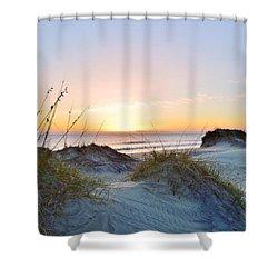 Pea Island Sunrise 12/28/16 Shower Curtain