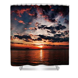 Peace Along The River Shower Curtain