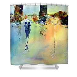 Peace At Twilight Shower Curtain