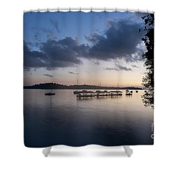 Peace Before Sunrise Shower Curtain