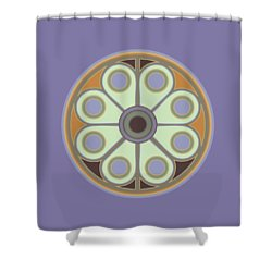Peace Flower Shower Curtain