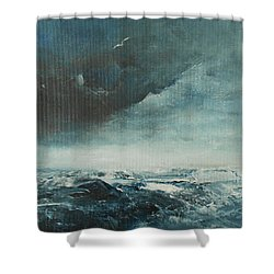 Peace In The Midst Of The Storm Shower Curtain