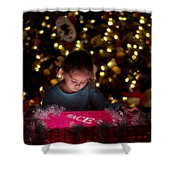 Peace Shower Curtain by Kevin Cable
