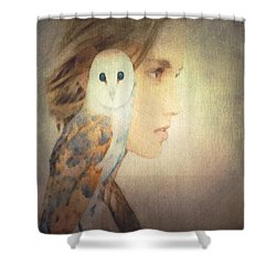 Peace Shower Curtain by Lisa Noneman