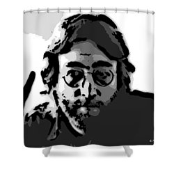 Peace Man Shower Curtain by George Pedro