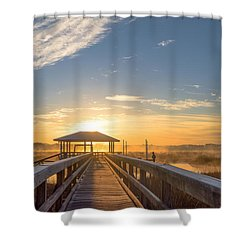 Shower Curtain featuring the photograph Peace by Margaret Palmer
