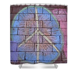 Shower Curtain featuring the photograph Peace by Michael Krek