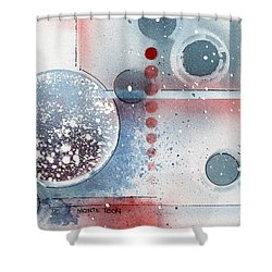Peace Shower Curtain by Monte Toon