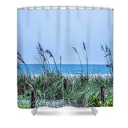 Peace Shower Curtain by Nance Larson