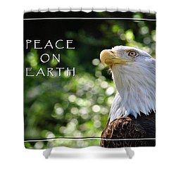 Peace On Earth Shower Curtain