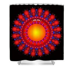 Shower Curtain featuring the digital art Peace by Robert Orinski