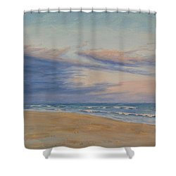 Peaceful Shower Curtain by Joe Bergholm