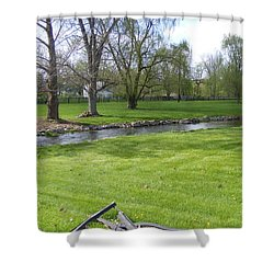 Peaceful Shower Curtain by Adam Cornelison