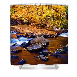 Peaceful Autumn Afternoon  Shower Curtain