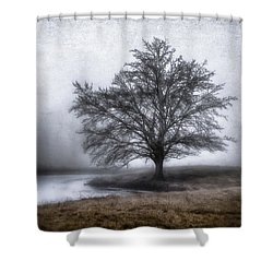 Peaceful Country Setting Shower Curtain