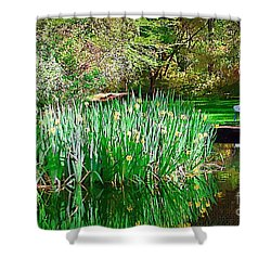 Shower Curtain featuring the photograph Peaceful by Donna Bentley