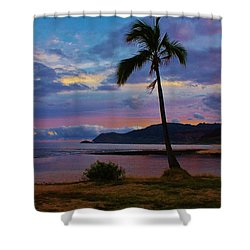 Peaceful Feeling Shower Curtain