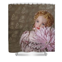 Shower Curtain featuring the photograph Peaceful Kish Doll by Nancy Lee Moran