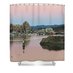 Peaceful Morning Shower Curtain by Betty Buller Whitehead