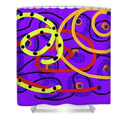 Peaceful Passion In Memories Shower Curtain