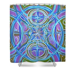 Peaceful Patience Shower Curtain