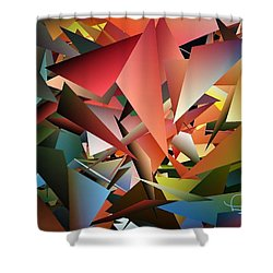 Peaceful Pieces Shower Curtain