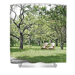 Peaceful Place To Rest Shower Curtain by Brooke T Ryan