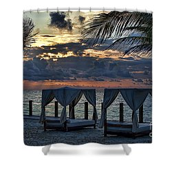 Peaceful Playa Shower Curtain