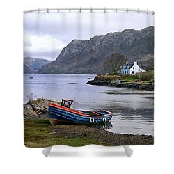 Peaceful Plockton Shower Curtain