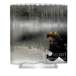 Peaceful Reflection Shower Curtain