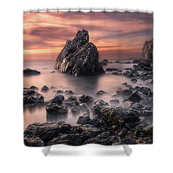Peaceful Reign Shower Curtain