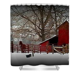 Peaceful Silence Shower Curtain