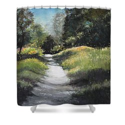 Peaceful Walk In The Foothills Shower Curtain