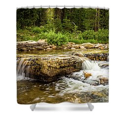 Shower Curtain featuring the photograph Peaceful Waters - Upper Provo River by TL Mair