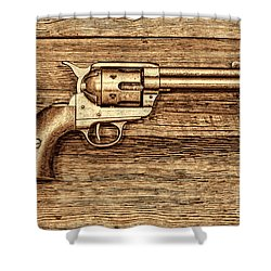 Peacemaker Shower Curtain by American West Legend By Olivier Le Queinec