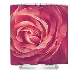 Blooms And Petals Shower Curtain
