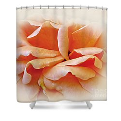 Peach Delight Shower Curtain