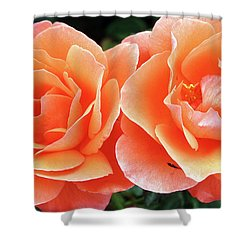 Peachy Shower Curtain
