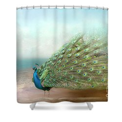 Peacock Beauty Shower Curtain