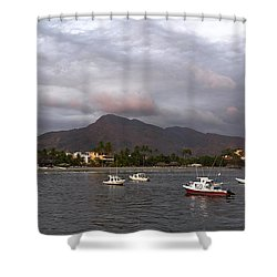 Peaceful Shower Curtain by Jim Walls PhotoArtist