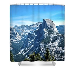Peak Of Half Dome- Shower Curtain