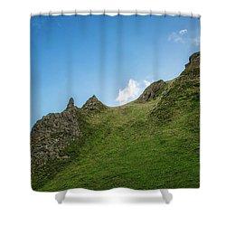 Peaks Shower Curtain