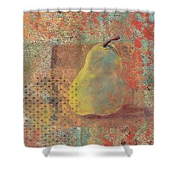 Pear Shower Curtain