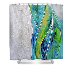 Pearl Falls Shower Curtain