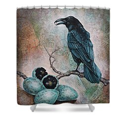 Pearl Of Wisdom Shower Curtain by Sheri Howe