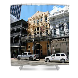 Shower Curtain featuring the photograph Pearl Oyster Bar by Steven Spak
