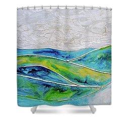 Pearl Sky Shower Curtain