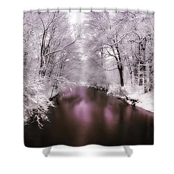 Pearlescent Shower Curtain by Jessica Jenney