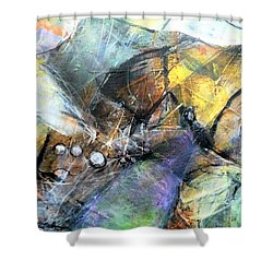 Pearls Of Wisdom Shower Curtain by Jim Whalen