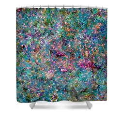 Pearls Painting  Shower Curtain